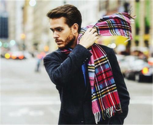 男生围巾的6种围法推荐