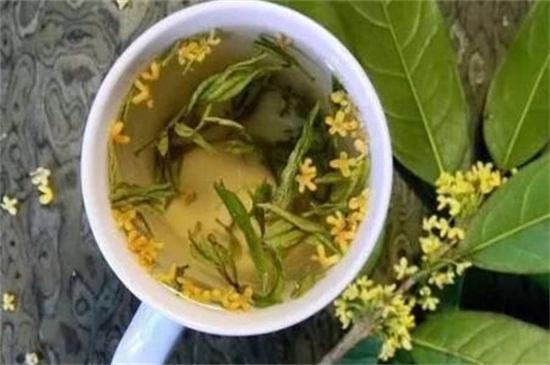 桂花茶的功效与作用